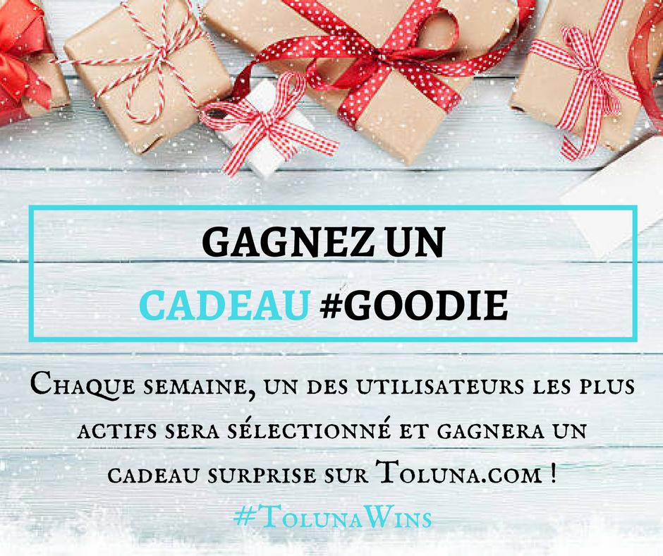 Copy of gagnez un cadeau #goodie